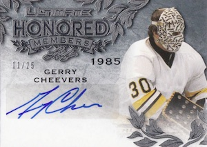 2015-16 Leaf Ultimate Hockey Honored Members Autographs