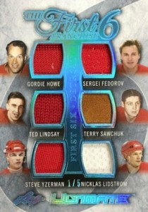 2015-16 Leaf Ultimate Hockey The First Six Franchise