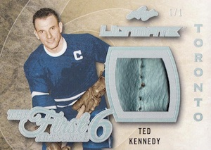 2015-16 Leaf Ultimate Hockey The First Six Relics
