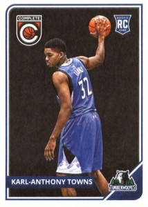 2015-16 Panini Complete Karl-Anthony Towns RC #303