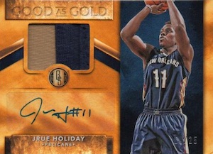 2015-16 Panini Gold Standard Basketball Good As Gold Autographs