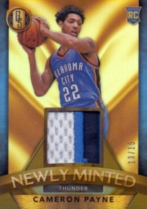 2015-16 Panini Gold Standard Basketball Cards - SSP Info Added 37