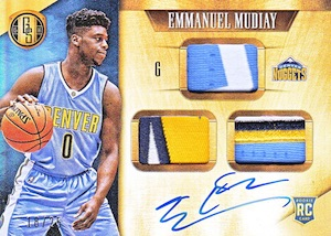 2015-16 Panini Gold Standard Basketball Cards - SSP Info Added 24