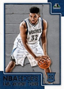 2015-16 Panini NBA Hoops Karl-Anthony Towns RC #289