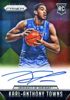 Karl-Anthony Towns Rookie Cards Checklist and Gallery 33