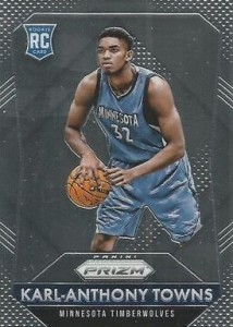 2015-16 Panini Prizm Karl-Anthony Towns RC #328