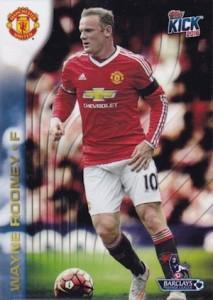 2015-16 Topps Premier Gold Soccer Kick Promo Rooney