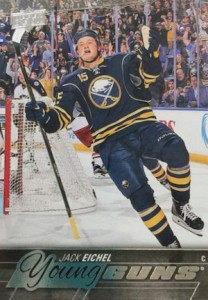 2015-16 Upper Deck Series 2 Hockey Jack Eichel Young Guns RC