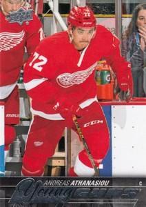 2015-16 Upper Deck Series 2 Hockey RC 458 Andreas Athanasiou