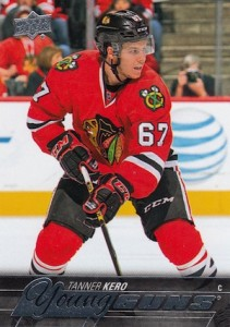2015-16 Upper Deck Series 2 Hockey RC 459 Tanner Kero