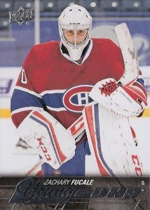 2015-16 Upper Deck Series 2 Hockey RC 461 Zachary Fucale