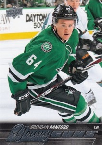2015-16 Upper Deck Series 2 Hockey RC 463 Brendan Ranford