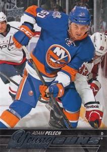 2015-16 Upper Deck Series 2 Hockey RC 465 Adam Pelech