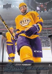 2015-16 Upper Deck Series 2 Hockey RC 473 Derek Forbort