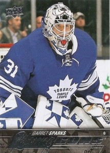 2015-16 Upper Deck Series 2 Hockey RC 480 Garret Sparks