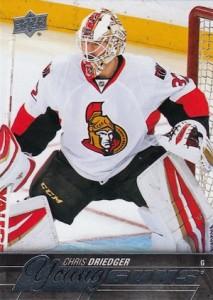 2015-16 Upper Deck Series 2 Hockey RC 482 Chris Driedger