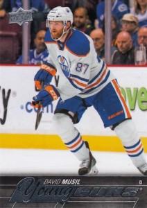 2015-16 Upper Deck Series 2 Hockey RC 485 David Musil