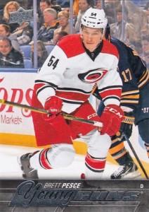 2015-16 Upper Deck Series 2 Hockey RC 487 Brett Pesce