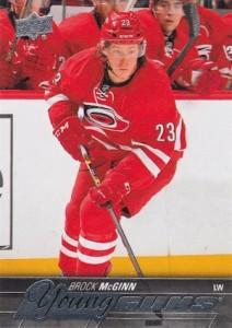 2015-16 Upper Deck Series 2 Hockey RC 497 Brock McGinn