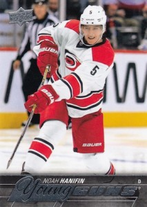 2015-16 Upper Deck Series 2 Hockey RC 499 Noah Hanifin