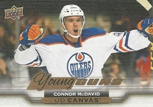 2015-16 Upper Deck Series Canvas Young Guns Connor McDavid