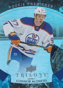 2015-16 Upper Deck Trilogy Connor McDavid RC #101