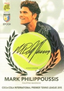 2015 Epoch International Premier Tennis League Cards - Review Added 26
