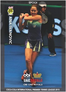 2015 Epoch International Premier Tennis League Cards - Review Added 21