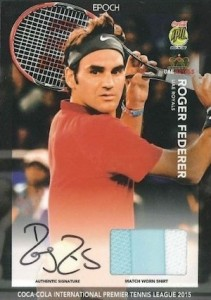 2015 Epoch International Premier Tennis League Cards - Review Added 30