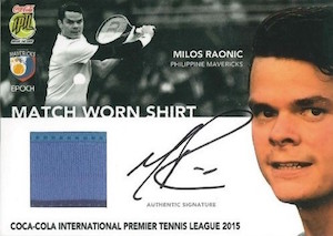 2015 Epoch International Premier Tennis League Cards - Review Added 31