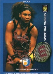2015 Epoch International Premier Tennis League Cards - Review Added 22