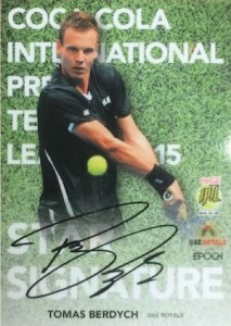 2015 Epoch International Premier Tennis League Cards - Review Added 25