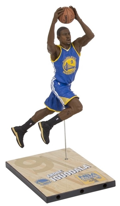 2015 McFarlane Golden State Warriors Champions Iguodala