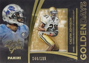 2015 Panini Black Gold Football Cards 37