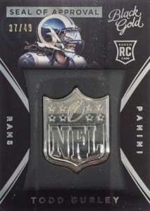 2015 Panini Black Gold Football Cards 41
