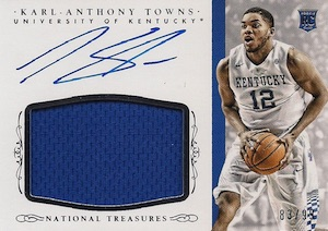 Karl-Anthony Towns Rookie Cards Checklist and Gallery 47