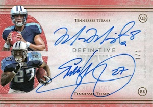 2015 Topps Definitive Collection Football Cards 30