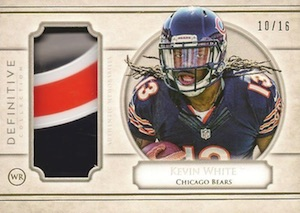 2015 Topps Definitive Collection Football Cards 29