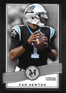 2015 Topps Museum Collection Football Base Cam Newton