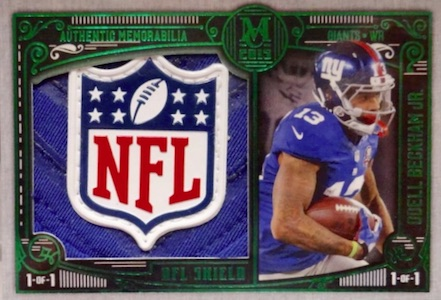 2015 Topps Museum Collection Football Cards - Review Added 30
