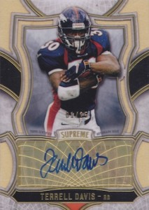 2015 Topps Supreme Football Cards - Review Added 26