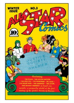 2016 Cryptozoic DC Comics Justice League All-Star Comics
