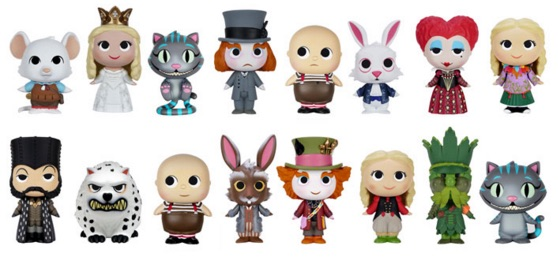 2016 Funko Alice Through the Looking Glass Mystery Minis figures