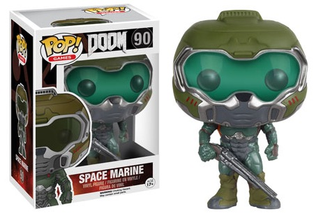 2016 Funko Pop Doom Vinyl Figures 90 Space Marine