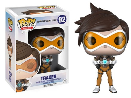2016 Funko Pop Overwatch Vinyl Figures 92 Tracer