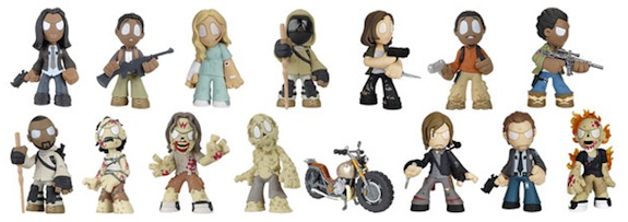 2016 Funko Walking Dead Mystery Minis Series 4 - Hot Topic Exclusives & Odds 2