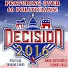 Decision 2016 Political Trading Cards - Full SP Info & Odds Added