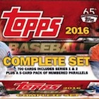 2016 Topps Baseball Complete Set - 65th Anniversary Online Exclusive