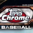2016 Topps Chrome Baseball Cards