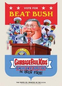 2016 Topps Garbage Pail Kids Campaign Posters Jeb Bush